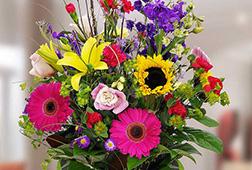 Colourful Bright Vase