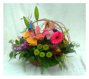 Easter Springtime Basket